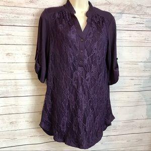 XL Purple Top Lace - PerSeption